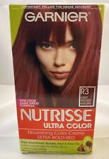 GARNIER NUTRISSE Ultra Color # R3 Light Intense Auburn Hair Coloring 1 Kit