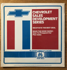 CHEVEROLET SALES DEVELOPMENT SERIES LASERDISC