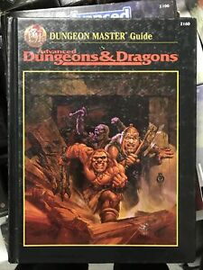 Dungeons & Dragons - 1st Printing TSR - AD&D - Advanced Dungeons & Dragons 2 Ed
