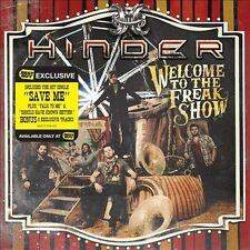 1 CENT CD Welcome To The Freakshow [Best Buy Exclusive] [PA] - Hinder
