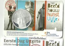 NEDERLAND   Exclusieve  Eerste Dag Uitgifte  Het Beeldhouwkunst Vijfje  VOORRAAD