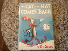 The Cat In The Hat Comes Back by Dr. Seuss. Later printing in dust jacket