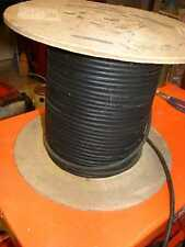 Power cable 18-3 MIL-C-3432E 10' 3 conductor 18 gauge flexible rubber cover.