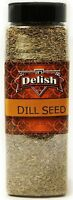 Whole Dill Seeds by Its Delish, 16 Oz. Large Jar