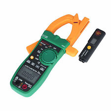 MASTECH MS2140C Digital AC DC Clamp Meter 6000 Count Tester Infrared Thermometer