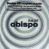 OBISPO Pascal - Live 98 - CD Album