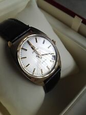 ZENITH VINTAGE SOLID 9ct GOLD AUTOMATIC DATE WATCH