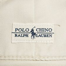 35x28 Polo Ralph Lauren Pleated Front 'Andrew' Chino Pants Stone 100% Cotton PRL