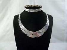 Federico Pioquinto Jaimes Hernandez TAXCO 925 Collar Necklace and Bracelet Set