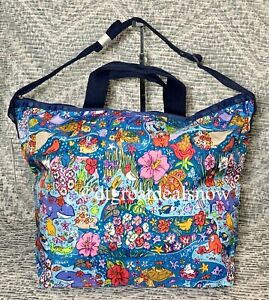 NEW LeSportsac Hawaii Wild Life HAWAII EXCLUSIVE Easy Carry Tote 2431 K831