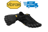 🇺🇸VIBRAM FiveFingers KSO EVO BLACK Women's Shoes 37-41EU Cross Training NEW!!!