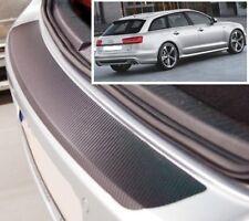 Audi A6 Avant 4G5 - Carbon Style rear Bumper Protector