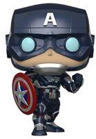 FUNKO POP! MARVEL: Avengers Game - Captain America (Stark Tech Suit) [