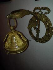 applique in bronzo dorato