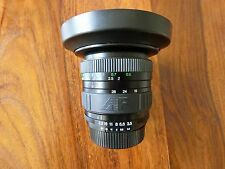 NIKON FIT COSINA 19-35mm WIDE ANGLE AF ZOOM LENS WITH HOOD