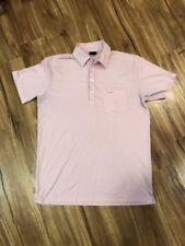 Sligo Wear Mens Medium Pink Golf Polo Shirt