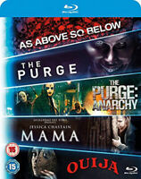 Mama / Purge - Anarchy / Ouija / Come Sopra So Below Blu-Ray Nuovo