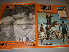 SPORT ILLUSTRATO 1954.12 24.03 FOOT MILAN AC et INTER CYCLISME VAN STEENBERGEN