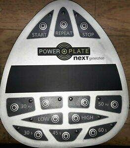 Power Plate next generation upperdisplay (Only replacement kit display inside)