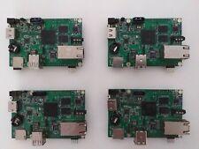 Pack 4 Units of Cubieboard2 Cortex-A7 DualCore Allwinner A20 board Working fine