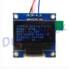 Pixhawk Pixhack Pixracer OLED Onboard Display Module I2C port SSD1306