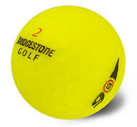50 Bridgestone E6 Yellow Near Mint Used Golf Balls AAAA Free Shipping