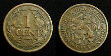 Netherlands - 1 Cent 1913 Zeer Fraai-