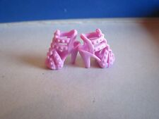 Barbie 2 pink Ruffle Shoes for Fashionistas Closet high heels doll fashion toy