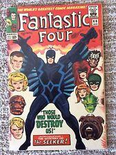 FANTASTIC FOUR #46 - Marvel Comics-1st full Black Bolt of the Inhumans