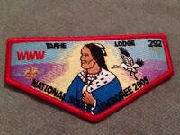 Mint OA Flap Lodge 292 Tarhe Red Border 2005 Jamboree