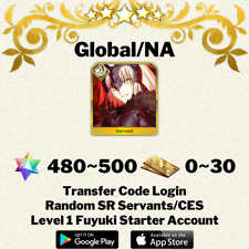 [English/Global/NA] Jeanne d'Arc (Alter) Fate/Grand Order FGO Starter Account