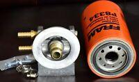 WVO BIO Diesel 4 Port Mount/Base NO 3u FRAM P8334 Final Fuel Filter