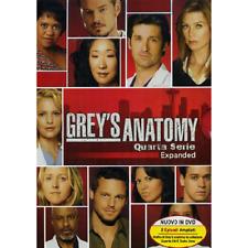 Grey's Anatomy - Stagione 04 (5 Dvd)  [Dvd Nuovo]