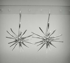 Extravagant Sterling Silver Earrings Stamped Solid 925 Nickel Free Empress