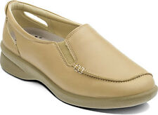 Ladies Padders Bonny Slip on Shoes - Biscuit UK4 - 7 3E/4E Fitting