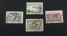 nystamps British Australia Stamp # C1-C4 Used $40   A9y1354