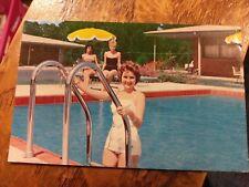 Holiday Inn, Columbia  SC South Carolina Pool Beauty  Chrome Postcard