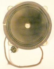 "vintage* CLARION JR AC-60  CATHEDRAL RADIO:  Working 8 & 1/2"" FIELD COIL SPEAKER"