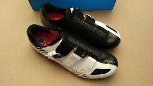Shimano SH-R171W White SPD-SL Carbon Road Shoes New