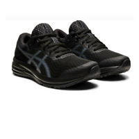 Asics Womens Patriot 12 Running Shoes Trainers Sneakers Black Sports Breathable