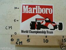 STICKER,DECAL MARLBORO WORLD CHAMPIONSHIP TEAM LARGE