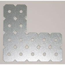 Carinya L MENDING PLATE 100x40x100x50x1mm 5Pcs GALVANIZED Steel-Australian Brand