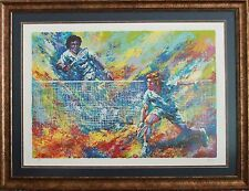 SERIGRAPH BY MARK KING HAND SIGNED AND NUMBERED TENNIS PLAYERS