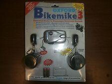 Oxford BikeMike 3 Helmet Audio Noise Cancelling *NEW* Ear Mic Full Face Headset