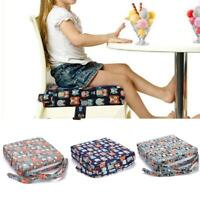 Baby Increased Pad Booster Seat Cushion Adjustable Removable Kids Dining Chair