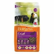 2x Burgess Excel- Guinea Pig Food with Blackcurrant And Oregano 2kg