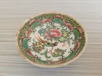 Vintage or Antique Chinese Famille Rose Mini Bowl 2 5/8'' W  # 2