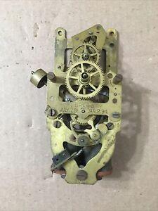 Antique F L Gregory Early Electric Clock Movement Parts Sempire Era #1