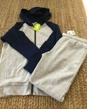 Crazy 8 Boys Lot Two Piece Zip Up Sweatshirt Pants Size M 7/8 NWT MSRP $45.00
