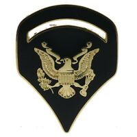 Specialist Spec 5 Army Color 1 1/8 Inch Hat pin H14533 D204